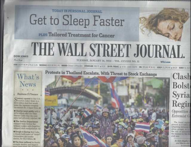Get to Sleep Faster article in WSJ with Stacy Kamala Waltman